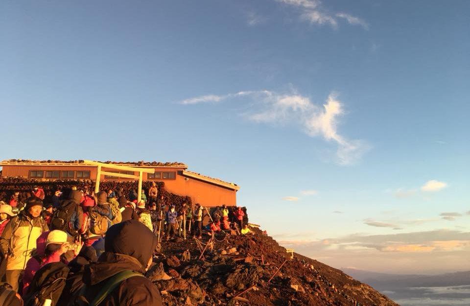 富士山 ご来光