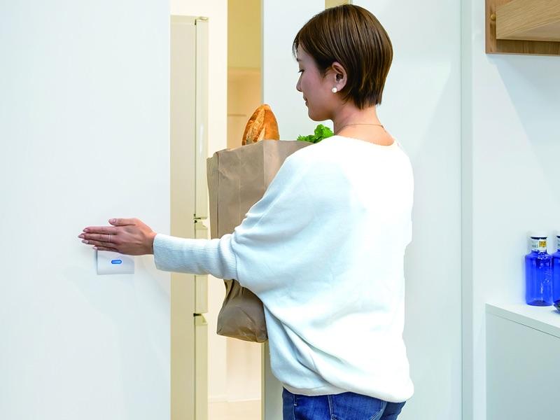 自宅用自動ドア