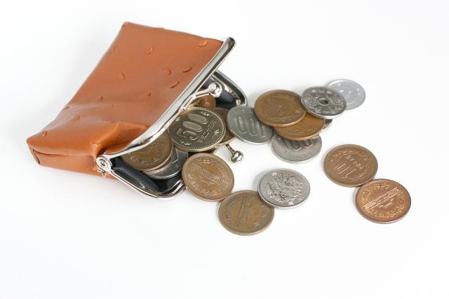 小銭の支払い